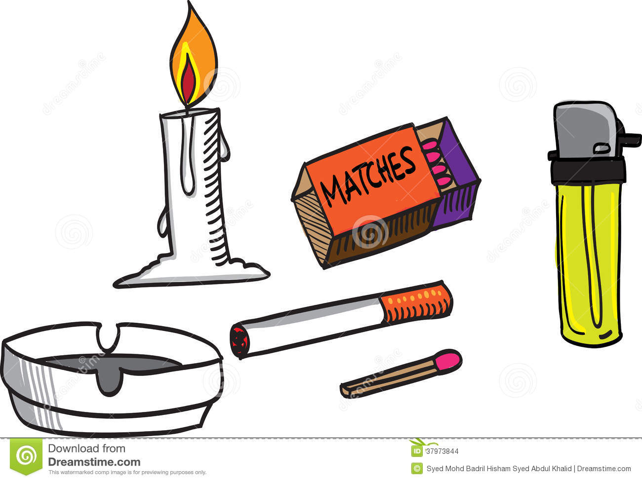 1300x977 Matches Clipart Lighter
