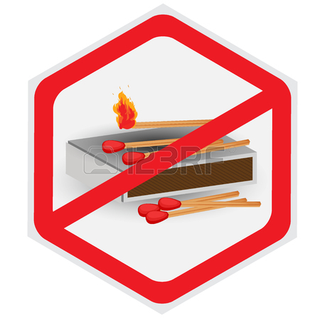 450x450 No, Fires, Allowed, Matches, Symbol Royalty Free Cliparts, Vectors