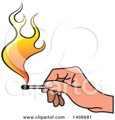 450x470 Clipart Lit Matches