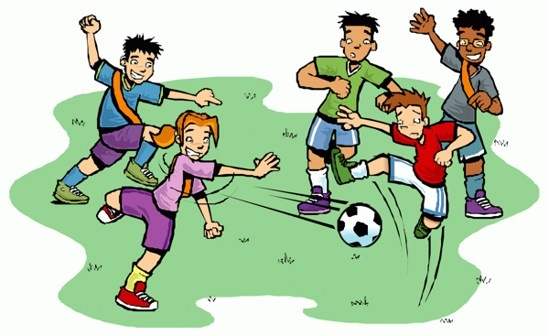 549x336 Football Match Clipart