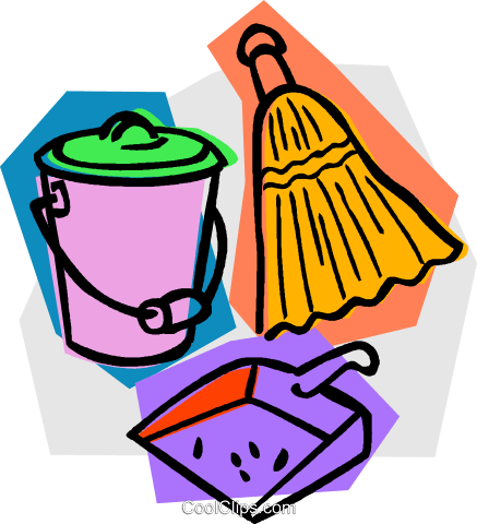437x480 Dust Clipart Cleaning Material