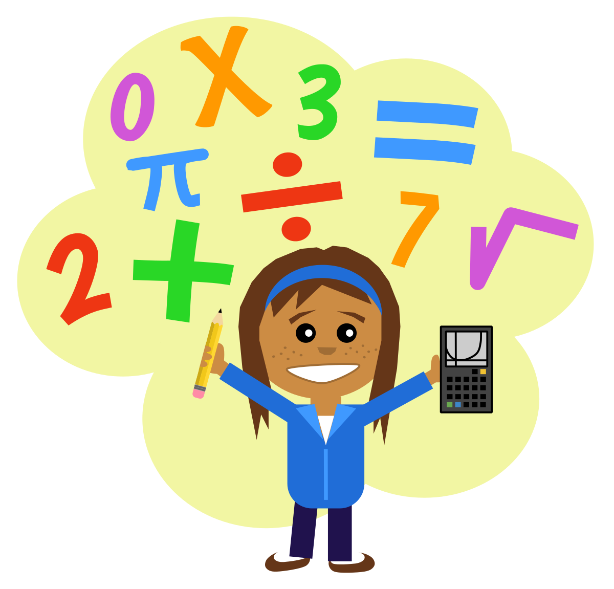 1200x1151 School Math Clipart