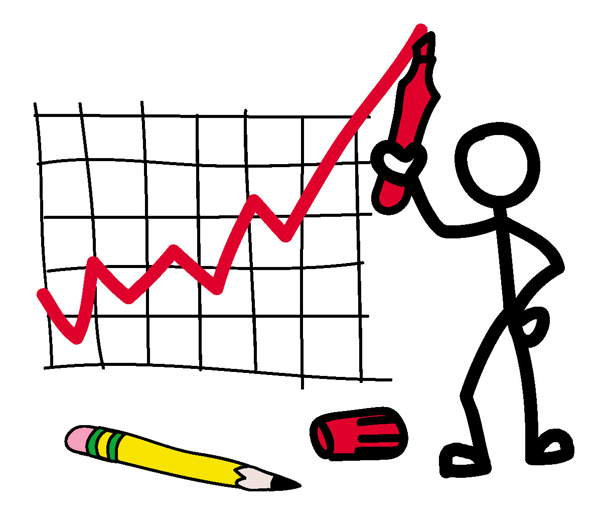 1200x1050 Clip Art Stick Guy Graphing Clipart Panda