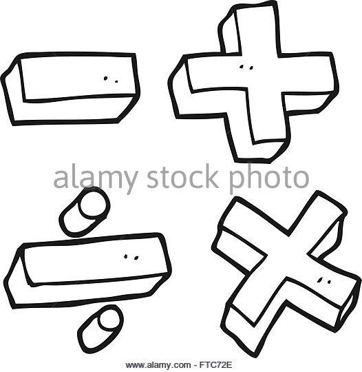 526x540 Math Symbols Black and White Stock Photos amp Images