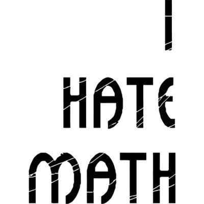 400x400 Non math lovers on Ladies Tshirt Ringer Tshirt Tshirt Style