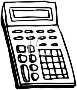 258x300 Math Calculator Clip Art Cliparts