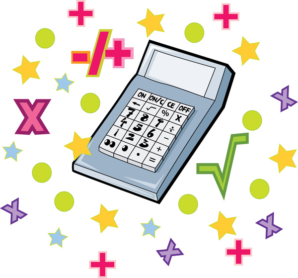 600x559 Mathematics Clipart Math Equipment