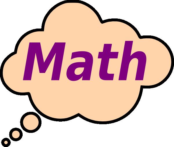 600x510 Math Clip Art