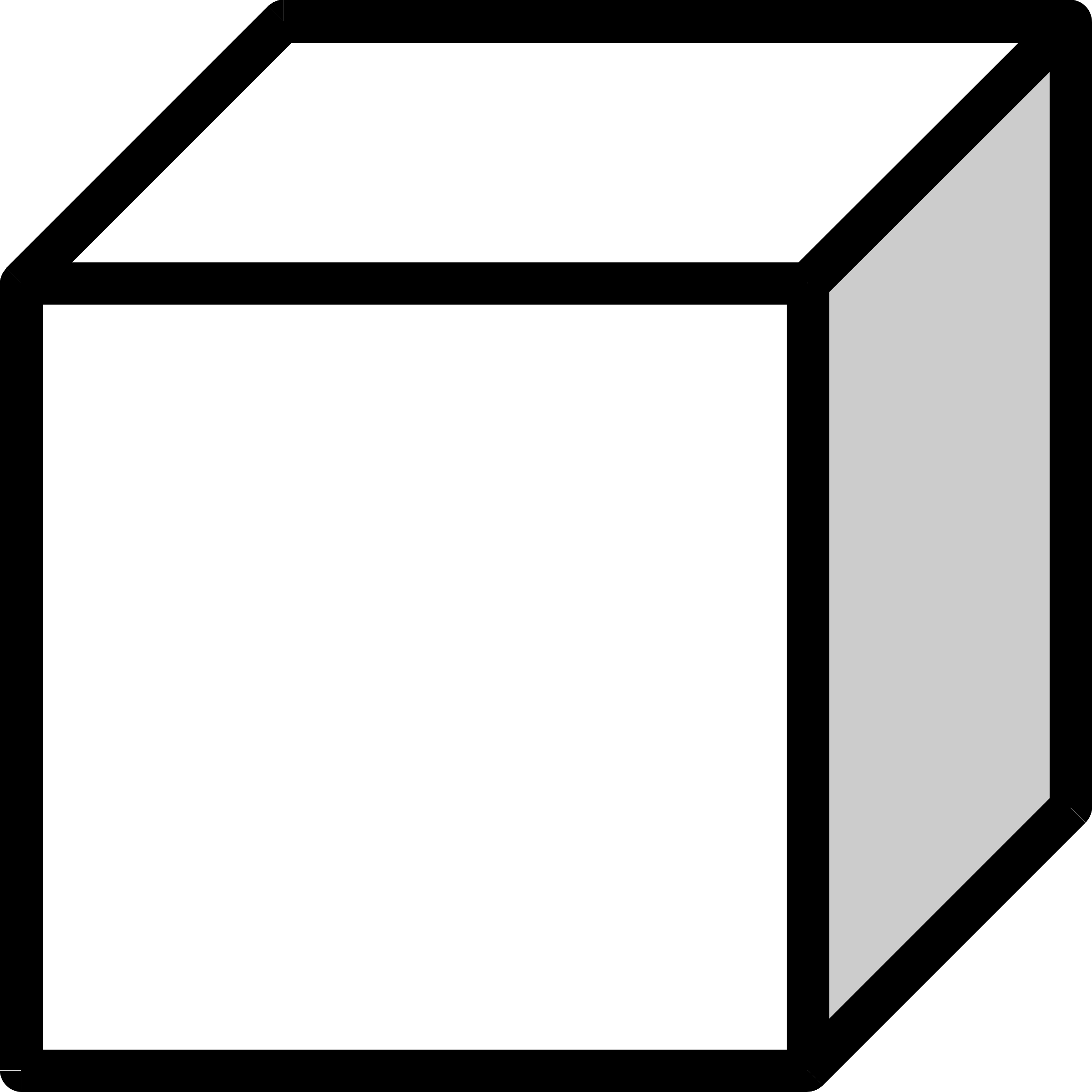 2400x2400 Cube clipart black and white