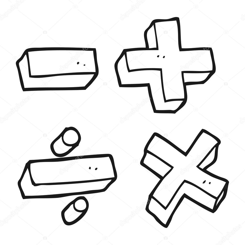 Math Clipart Black And White