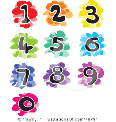 400x420 Fun Numbers Clipart