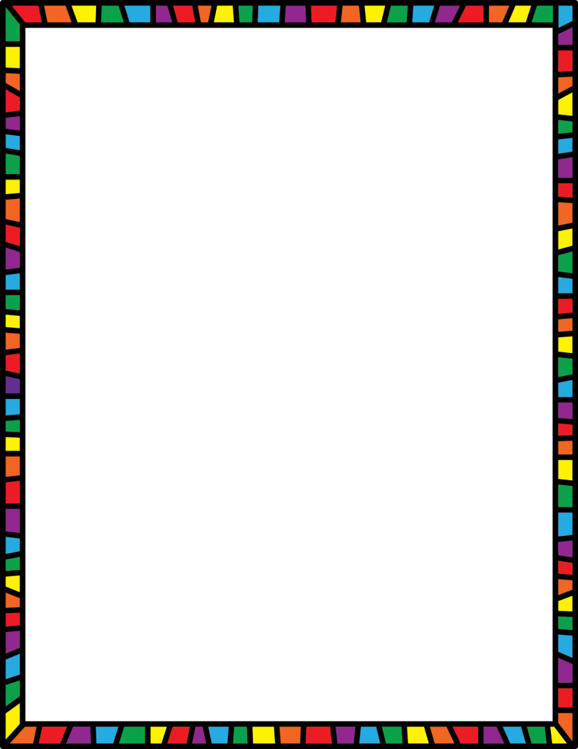 830x1076 Images Of Page Borders Clipart