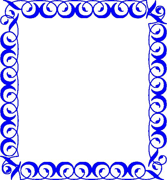 552x596 Math Border Clipart