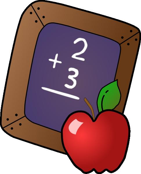 486x599 Math Clip Art