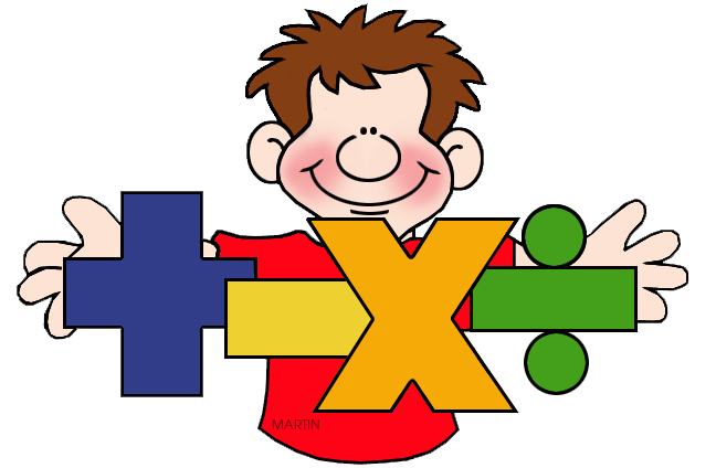 648x424 Math Symbols Clipart