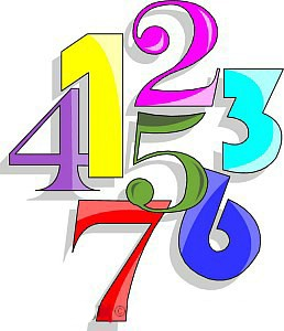 258x300 Numbers Clipart