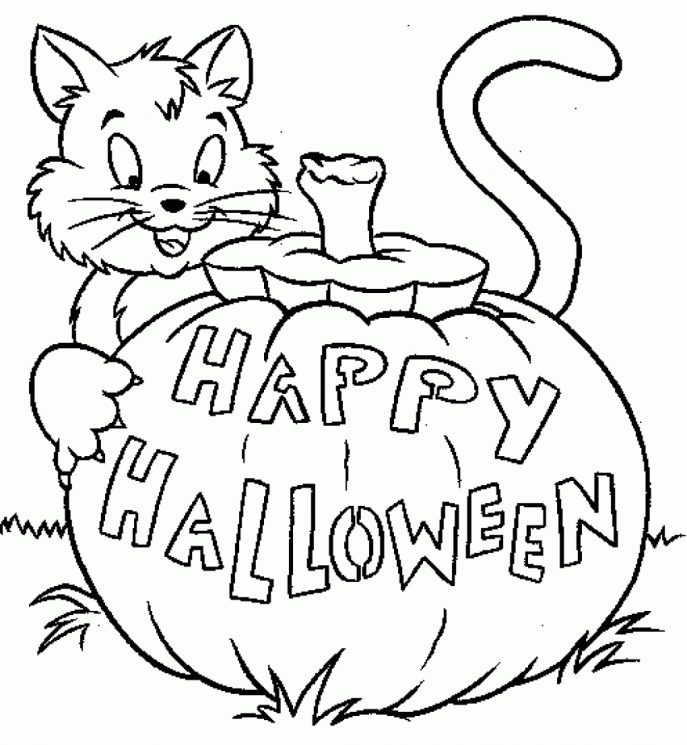 687x745 Coloring Pages Halloween Coloring Pages For Grade 1 Addition