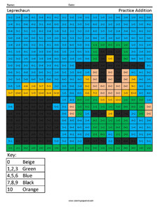 231x299 St. Patrick's Day Holiday Addition Coloring Squared