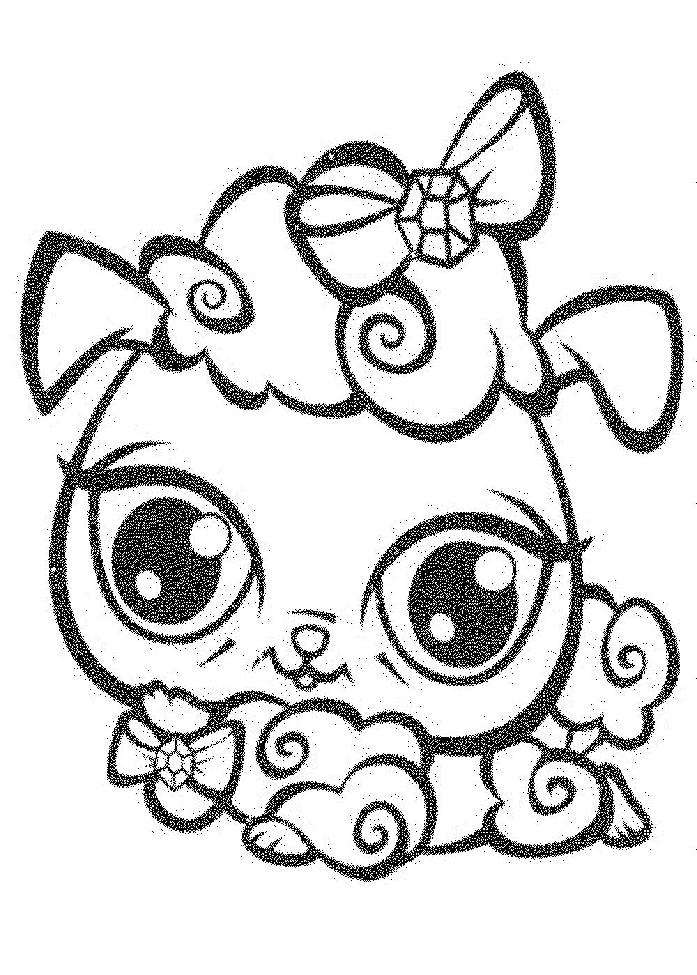 1000x1399 Littlest Pet Shop Coloring Pages Cat
