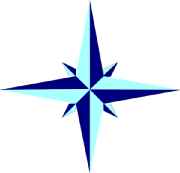 600x578 Compass Rose Star Md Free Images
