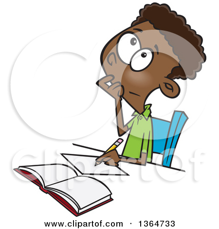 Math Homework Clipart