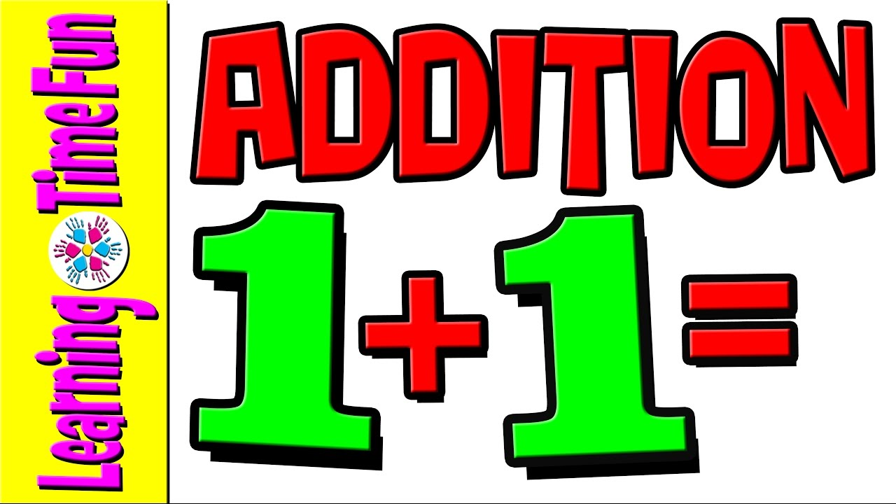 1280x720 Addition Add Numbers By 1 Math For Kids Math Help Addition
