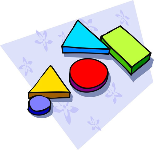 500x487 Geometry Clipart Math Manipulative