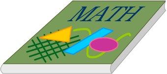 340x150 Mathematics Clipart Math Book