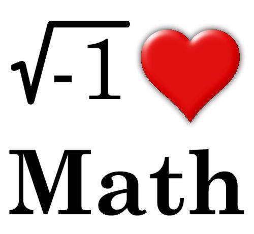500x461 Free I Love Math Clipart Image