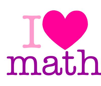 400x340 I Love Math Clipart