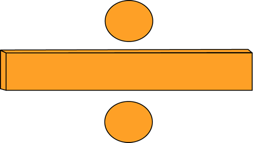500x283 Orange Math Division Symbol Clip Art