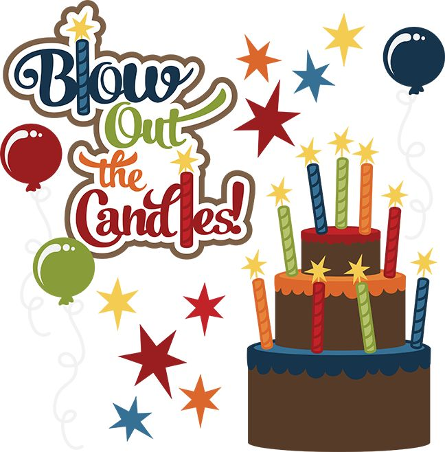 May Birthday Clipart