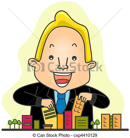 442x470 City Clipart City Mayor