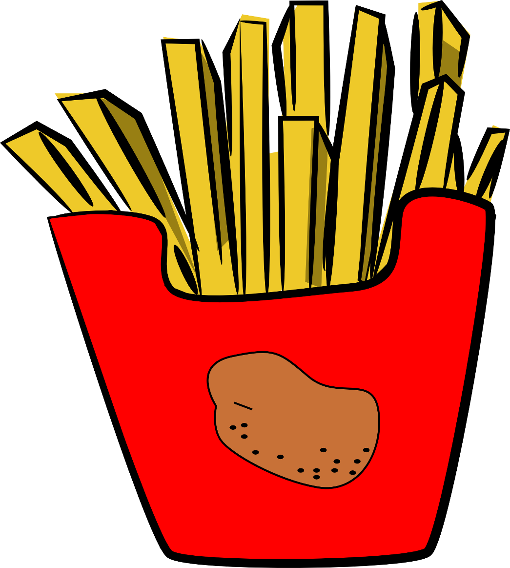 1045x1163 French Fries Clip Art
