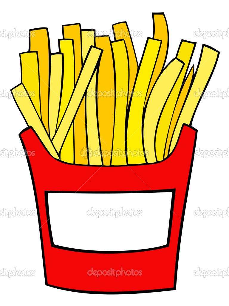 768x1024 Fries Clip Art