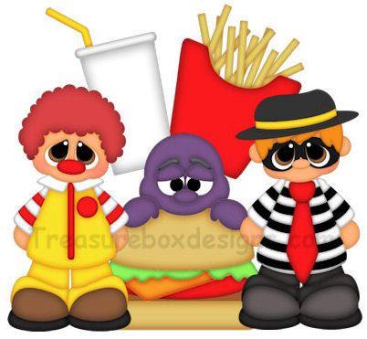 402x371 Mcdonald's Clipart Fast Food