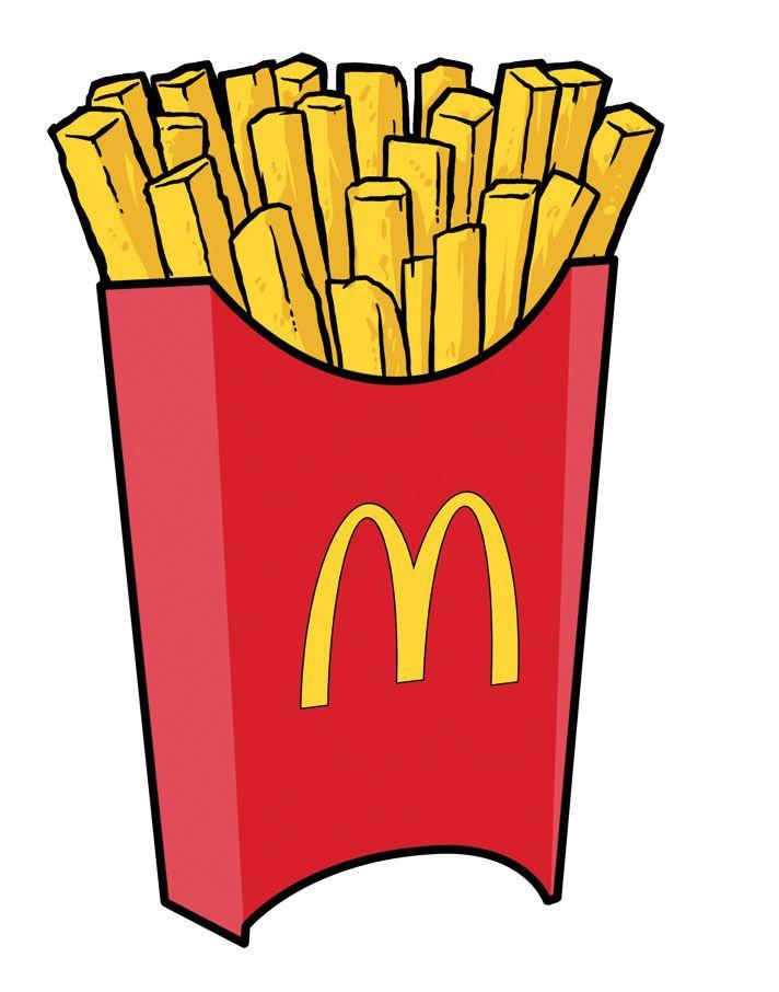 712x906 Mcdonald's Clipart Favorite Food