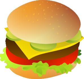 297x280 Cheese Burger Clip Art