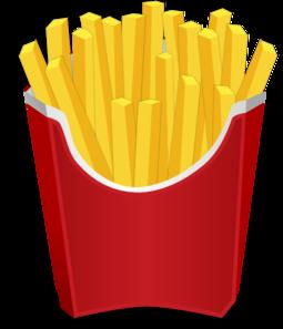 255x297 Chips Clipart Mcdonalds