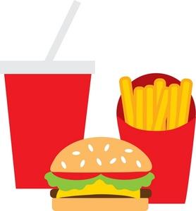 278x300 Fast Food Clipart