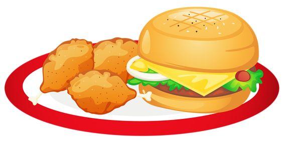 564x282 Hamburger Food Clip Art Cartoon Food Art Clip Art