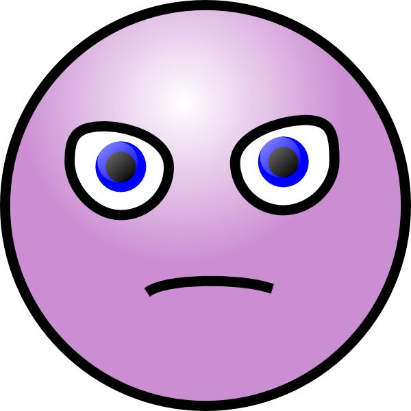 Mean Cartoon Faces Clipart