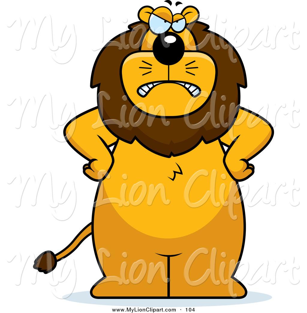 1024x1044 Mean Lion Clipart