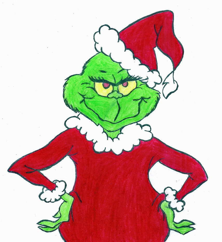 855x934 Mean Grinch Clipart