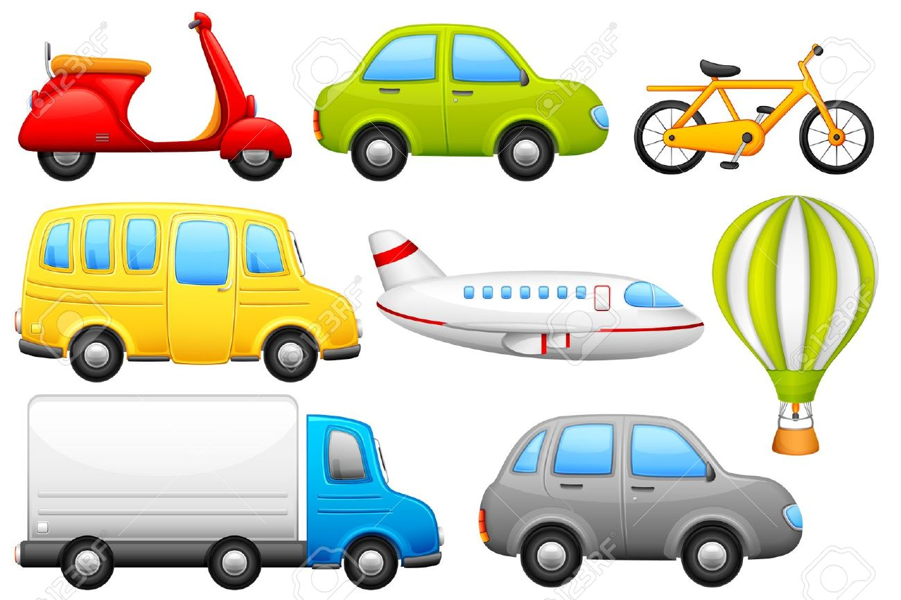 1300x866 Means Of Transport Clipart