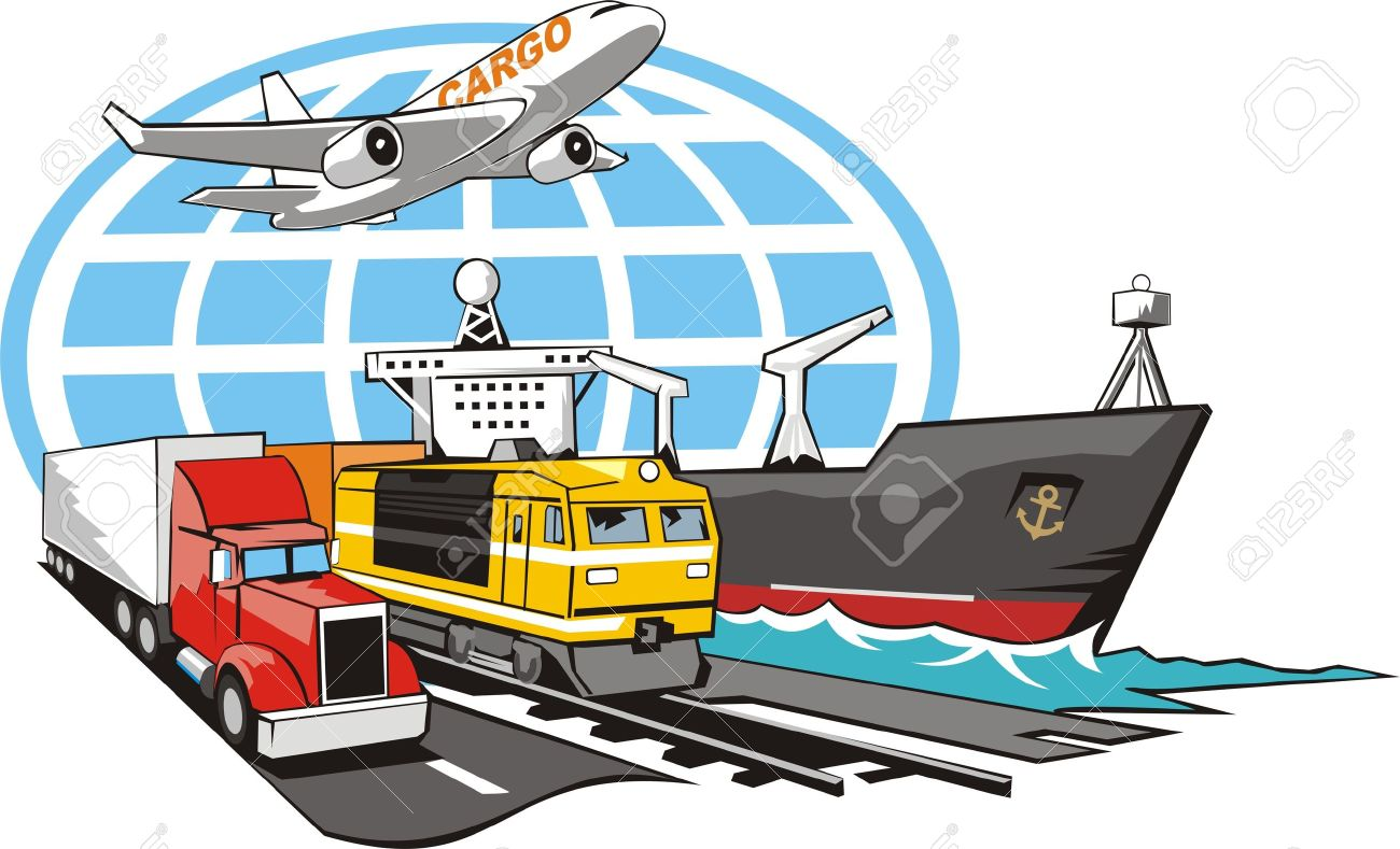 1300x789 Sign Of Transportation Cargo On All Type Of The Transport Royalty
