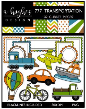 278x350 Transportation Clipart Teaching Resources Teachers Pay Teachers