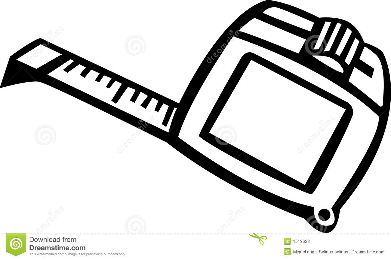 1300x866 Tape Measure Clipart