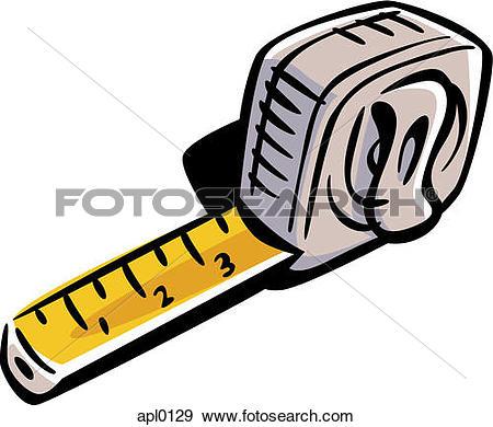 450x390 Tape Measure Clip Art