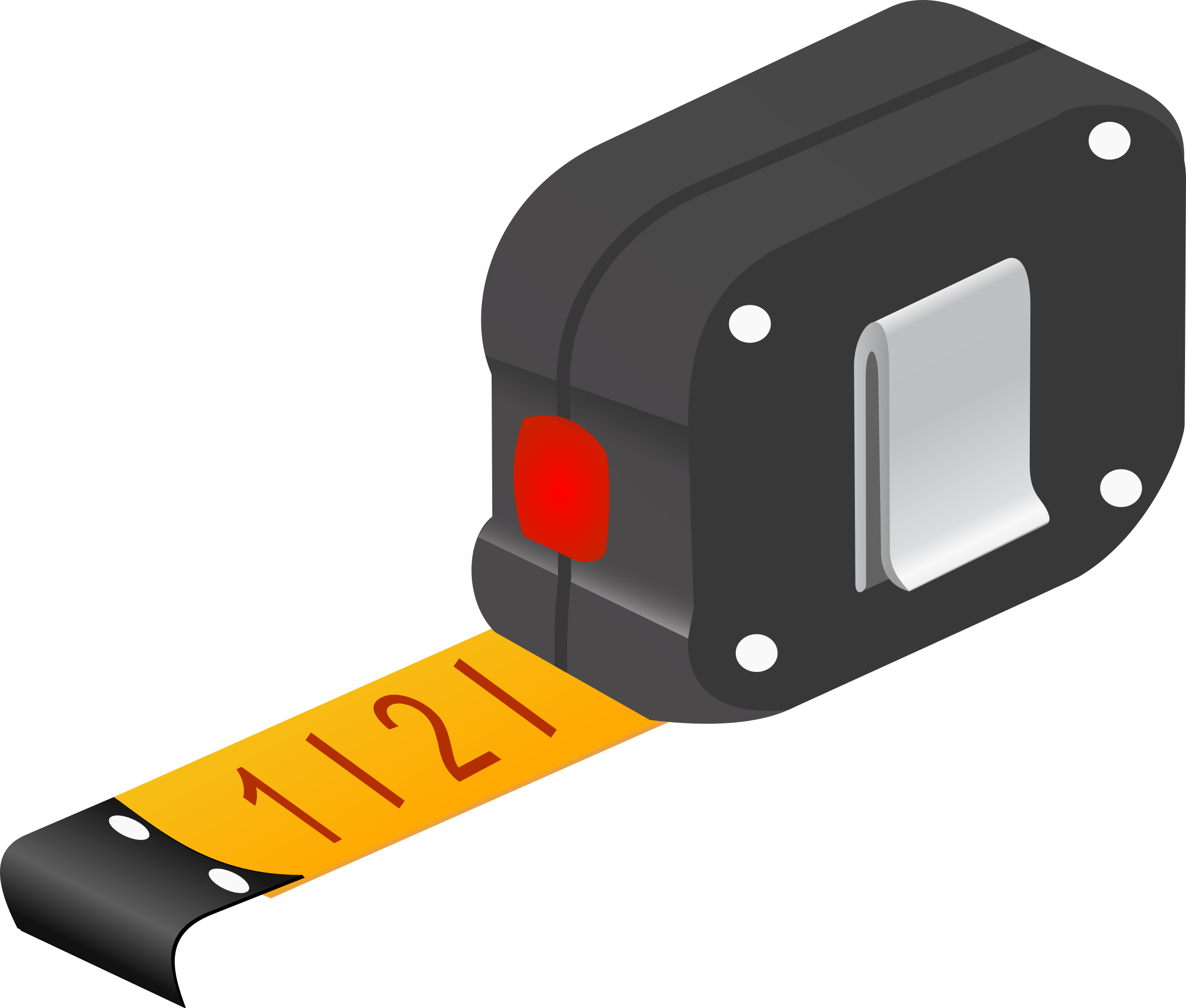 2400x2040 Measuring Tape Clipart